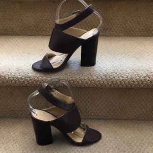 Nine West Brown Sandals